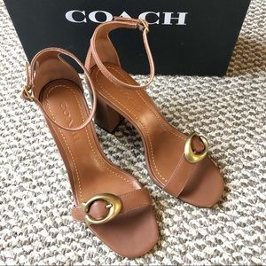 Coach Maya 85mm Sandal with Signature Buckle / 6